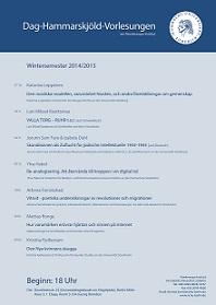 Dag-Hammarskjöld-Vorlesungen 2014